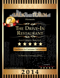 Drive-In Restaurant Excellence in Customer Service 4 Star